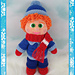 Winter Boy Amigurumi pattern