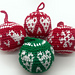 Nordic style Christmas decoration pattern