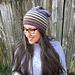 Very Versatile Striped Beanie pattern