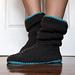 Women's Slouchy Slippers pattern