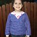 Sweet Promises Child Crochet Sweater pattern
