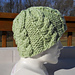 Cables of Comfort Cap pattern