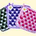 Gingham & Daisy Potholders pattern