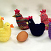 Chicken and Duck Egg Cozies (Easter) pattern