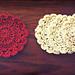 Little Petal Coaster pattern