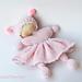 Pink Waldorf doll pattern