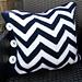 Garter Stitch Chevron Pillow pattern