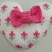 Shabby Chic Rosebud Heart pattern