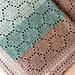 "Nana's ""Sweet As Can Bee"" Baby Blanket pattern"