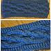 Intertwining Cabled Diamonds Headband/Ear-Warmer pattern