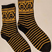 Exquisite Corpse Sock pattern