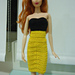 Barbie Strapless Pencil Dress pattern