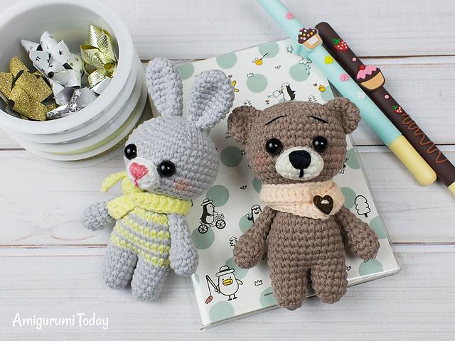 Free Crochet Bear Patterns – Amigurumi Patterns ... | 480x640
