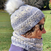 Wintry Hat and Cowl pattern