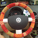 Steering wheel cover pattern