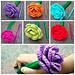 Flower Pen Cozy pattern
