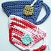 Tea Cup Coaster pattern