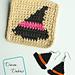 Witch Hat Set pattern
