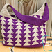 Trixie Triangles Bag pattern