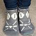 Kristy Kitty Slipper-Socks pattern