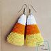 Candy Corn Earrings pattern