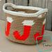 Joyful Stocking Basket pattern