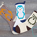Cute Creatures Stocking Trio pattern