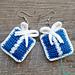 Gift Box Earrings pattern