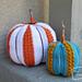 Simple Striped Pumpkin pattern