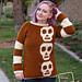 Sally Skulls Pullover pattern