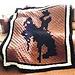 C2C Cowboy Afghan pattern