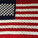 4th of July C2C US Flag pattern