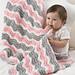 Baby Girl Chevron Blanket pattern