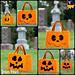 Ghost/Pumpkin Candy Hauler Tote pattern