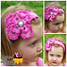 Wings of Spring Headband pattern