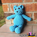 Chunky Teddy Bear Amigurumi pattern