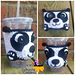 Panda-Monium Cup Cozy pattern