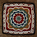 Pizzazz Afghan Square pattern