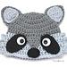 Raccoon Hat pattern