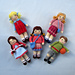 Little Friends in Autumn pattern