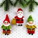 Santa and his Elves pattern