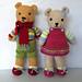 Vintage Style Teddy Bears pattern