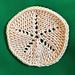 Sand Dollar Tawashi pattern
