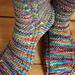 Aquaphobia Socks pattern