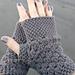 chunky fingerless gloves pattern