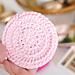 Easy Reusable Cotton Face Scrubbie pattern