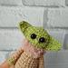Yoda toy Keychain pattern