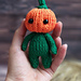 Pumpkin Halloween toy pattern