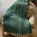 Keltie Cables Blanket or Throw pattern