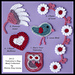 2012 Valentine's Day Motif Collection pattern